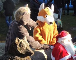 Marché de Noël 2013 - Les Loups de Chabrières