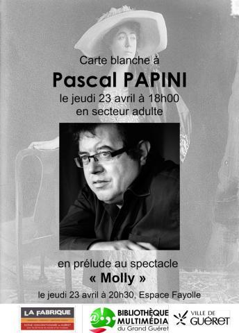 Affiche Lecture Papini