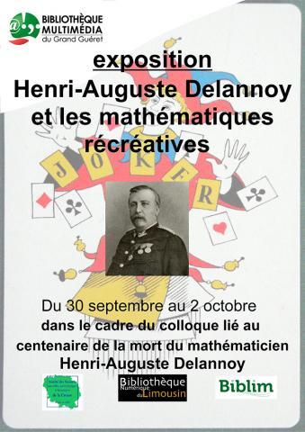 Affiche Exposition Delannoy