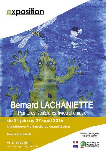 Affiche exposition Lachaniette