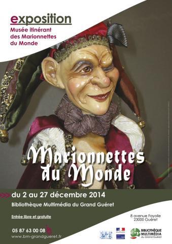 Visuel exposition Marionnettes du Monde