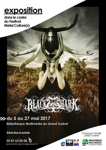 Flyer exposition BLACKSSHARK