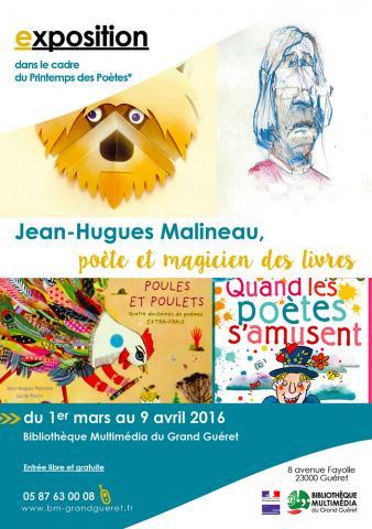 Flyer exposition Malineau