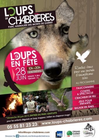 Flyer Loups en fête 28062015 Parc Animalier