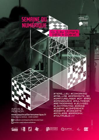 Flyer Semaine du Numérique 2015