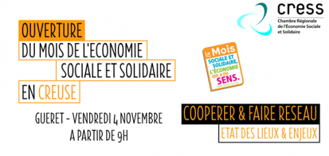 Ouverture du mois de l 39 economie sociale et solidaire en - Chambre de l economie sociale et solidaire ...