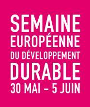 Logo semaine européenne du développement durable 2015