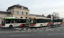 A bus agglo'Bus décorés