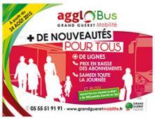 agglo'Bus nouveautés 2015