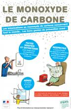 Affiche prévention monoxyde de carbone