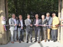 Inauguration nouveaux aménagements parc