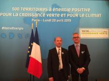 Territoire énergie positive à croissance verte 20 avril 2015