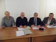 Signature convention Tour du Limousin 2014