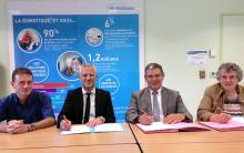 Signature convention licence pro domotique et master autonhom-e