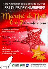 Affiche Marche de Noël 2014