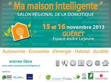 Affiche Salon Régional Domotique 2013