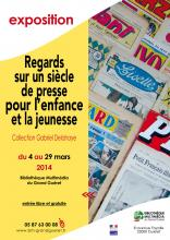 Affiiche expo presse mars 2014