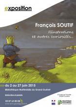 Affiche Exposition François SOUTIF