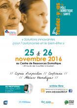 Affiche RDV Pôle Domotique et Santé 2016 Guéret