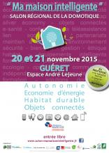 Affiche salon domotique 2015
