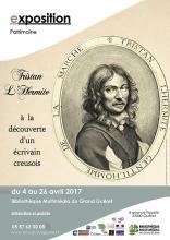 Affiche exposition Tristan L'Hermite