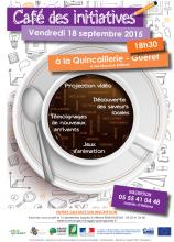 Flyer Café des initiatives