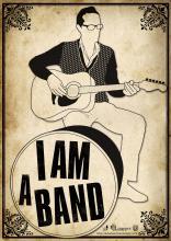 Affiche I am a band