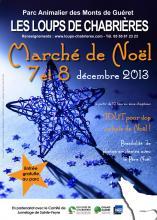 Affiche marché de noël 2013