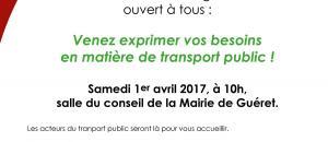 Affiche comité usagers agglo'Bus 2017